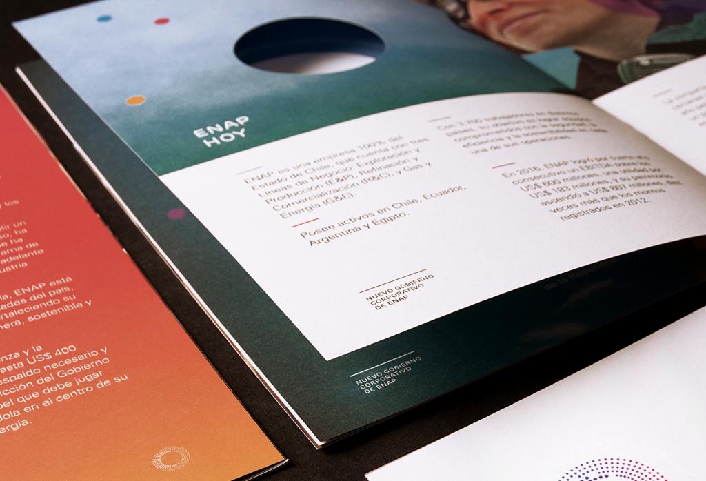 Enap |  Brochure lanzamiento de marca